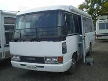1990 Toyota Coaster Motor Home Grafton Clarence Valley Preview