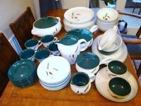 Denby 44 piece Greenwheat set in Excellent condition