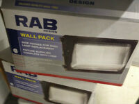 RAB WALL PACK WP150-HPS 150W OUTDOOR LIGHTS