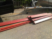 16/ 2x6s 12/ 2x4s 6' long used but super straight