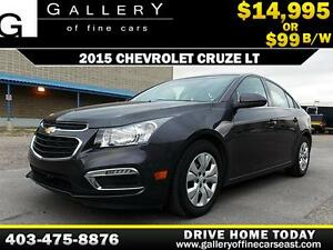 2015 Chevrolet Cruze LT $99 bi-weekly APPLY NOW DRIVE NOW