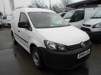 Volkswagen Caddy 1.6TDI 75PS STARTLINE VAN DIESEL MANUAL WHITE (2014)