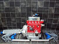 CLASSIC MINI 1380cc TURBO 200+BHP A+ ENGINE & STRAIGHT CUT GEARBOX