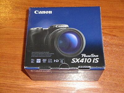 NEW in Box - Canon PowerShot SX410 IS 20.0 MP Camera - BLACK - 013803254532