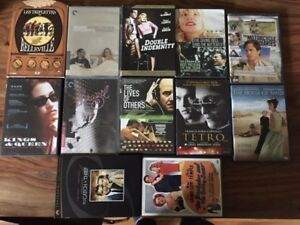 12 Criterion & Arty DVDs