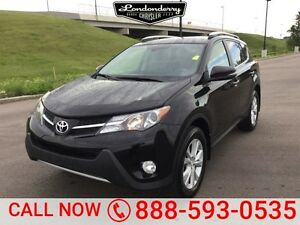 2013 Toyota RAV4 4WD LIMITED Finance $193 bw