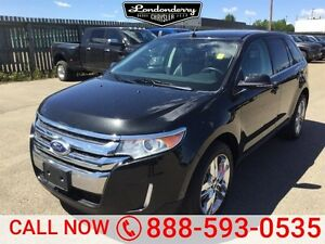 2014 Ford Edge AWD LIMITED Navigation (GPS),  Leather,  Sunroof,