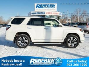 2015 Toyota 4Runner 4WD Limited, 7-Passenger, Sunroof,Heated Lea
