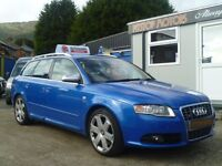 2006 AUDI A4 S4 QUATTRO AUTO PEDDLESHIFT GEARBOX,FSH ,ALL MAJOR CREDIT CARDS AND DEBIT CARD EXCEPTED