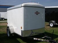 Carry-on Cargo Enclosed trailer 5x8