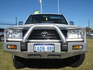 1998 Toyota Landcruiser FZJ105R GXL White Automatic Wagon Wangara Wanneroo Area Preview