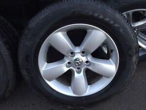 Dodge Ram Tires with Rims