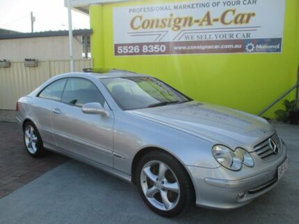 2004 Mercedes-Benz CLK320 C209 Avantgarde Silver 5 Speed Automatic Coupe