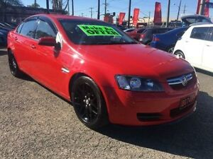 2010 Holden Commodore VE MY10 International Red 6 Speed Automatic Sedan Lansvale Liverpool Area Preview