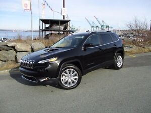 2016 Jeep CHEROKEE Limited with Navigation