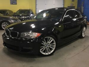 2010 BMW 1 Series 128i / SPORT PKG/  PADDLE SHIFTERS/ SUNROOF