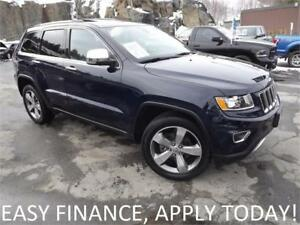 2016 Jeep Grand Cherokee Limited 4X4! LOADED! MOONROOF! ALLOYS!
