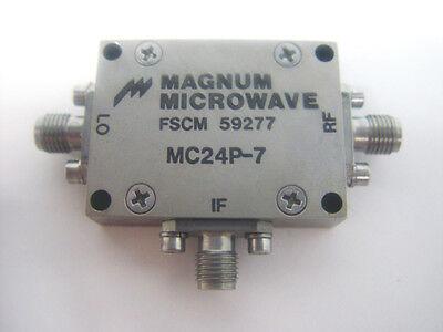 Magnum Microwave Mc24p-7 Coaxial Rf Mixer Fscm 59277