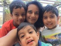 Au pair or part-time nanny urgently needed to help friendly family with 3 little boys, live in/out