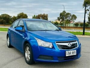 2010 Holden Cruze JG CD Blue 6 Speed Sports Automatic Sedan Mawson Lakes Salisbury Area Preview
