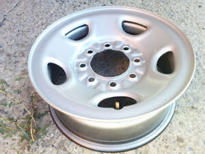 New OE GMC 16 inch steel rims, Savana, Sierra, Chevrolet Express
