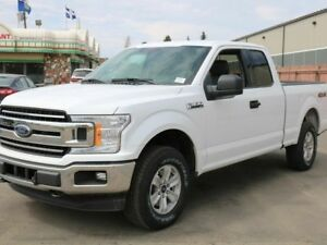 2018 Ford F-150 XLT, 300A, 4X4, 5L V8, CLOTH, SYNC, CRUISE CONTR