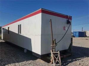 10'X42' SKID MOUNTED OFFICE SHACK AVAILABLE FOR RENT