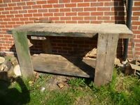 WORK BENCH-HEAVY DUTY-6FTX3FT-VERY SOLID BENCH