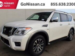 2018 Nissan Armada SL: Blind Spot Warning, Bose audio system, He