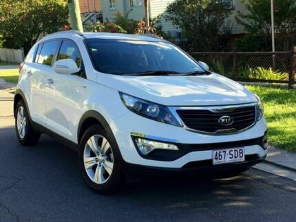 2011 Kia Sportage SL MY12 SLi White Automatic Wagon Greenslopes Brisbane South West Preview