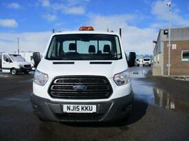 Ford Transit T350 MWB TIPPER TDCI 125PS S/CAB DIESEL MANUAL WHITE (2015)