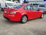 2010 Ford Falcon FG XR6 Red 6 Speed Sports Automatic Sedan Alexandra Headland Maroochydore Area Preview