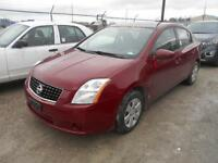 2008 Nissan Sentra 5 Speed 94,000Km Certified $5,426.81+Taxes