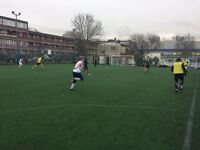Play football TODAY in Battersea. Sunday afternoons. Friendly 7-a-side. New players needed!