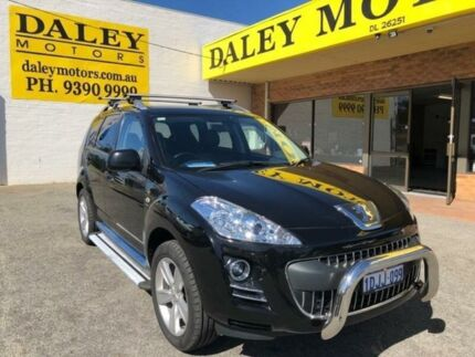 2010 Peugeot 4007 SV DCS Auto HDi Black 6 Speed Sports Automatic Dual Clutch Wagon Armadale Armadale Area Preview