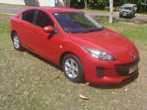 2013 Mazda 3 BL10F2 MY13 Neo Activematic Red 5 Speed Sports Automatic Sedan Stuart Park Darwin City Preview