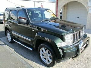 2011 Jeep Cherokee KK Limited (4x4) Natural Green Pearl 5 Speed Automatic Wagon South Nowra Nowra-Bomaderry Preview