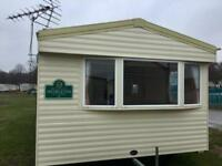 large 3 bed caravan for sale in Towyn cheap