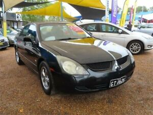 2004 Mitsubishi Magna TL Solara Black 4 Speed Sports Automatic Sedan Minchinbury Blacktown Area Preview