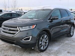 2015 Ford Edge TITANIUM, 302A, 2.0L ECOBOOST, AWD, SYNC, NAV, RE
