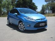 2009 Ford Fiesta WS Zetec Blue 5 Speed Manual Hatchback Elizabeth Playford Area Preview