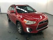 2016 Mitsubishi ASX XB MY15.5 LS (2WD) Red Continuous Variable Wagon Albion Brimbank Area Preview