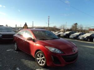 GREAT DEAL! LOADED!!! 2011 Mazda Mazda3 GX NICE RED! FINANCE IT