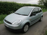 2003 FORD FIESTA 1.4 LX 3 DOOR (A/C) ONLY 44,800 MILES!!!!!