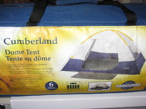 Camping equipment package