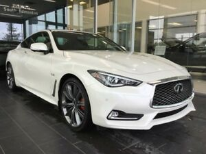 2018 Infiniti Q60 Coupe EXECUTIVE DEMO 3.0t RED SPORT W/ PRO-ACT