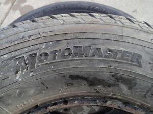 2 Motomaster All Season Tires 215/75/15 Edmonton Edmonton Area image 3