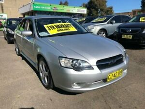 2006 Subaru Liberty B4 MY06 Safety Pack Silver Manual Sedan Lidcombe Auburn Area Preview