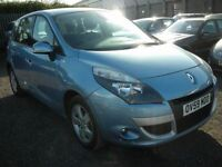 RENAULT SCENIC 1.6 TOMTOM EDITION VVT 5d 109 BHP (blue) 2009