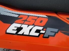 KTM 250 EXCF 2013 ENDURO ROAD REGISTERED ELECTRIC START MX MOTOCROSS BIKE